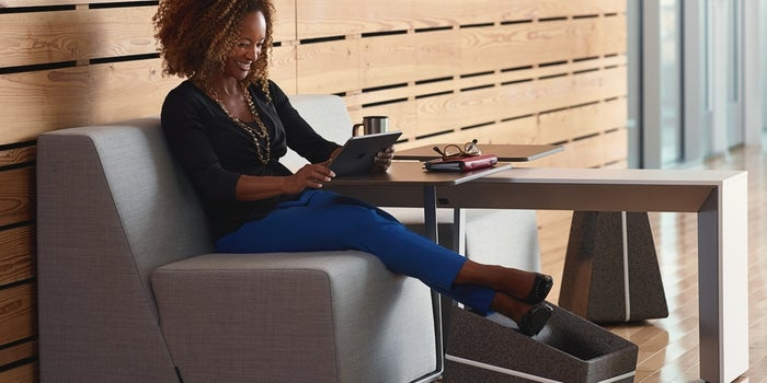 4 Ways to Fight 'Text Neck' and Get Moving at Work