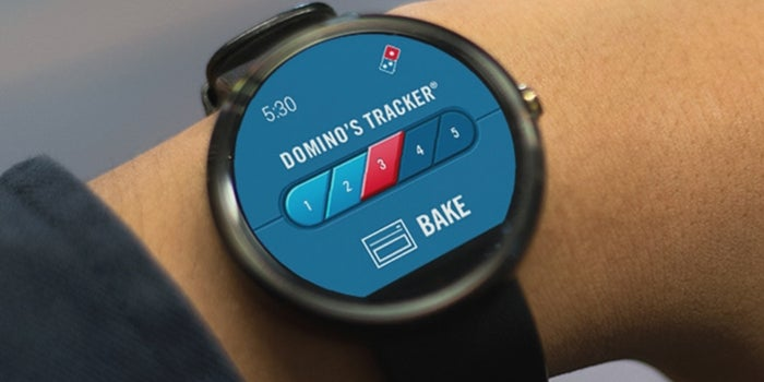 The Future Has Arrived: You Can Now Order Pizza From Your Smartwatch