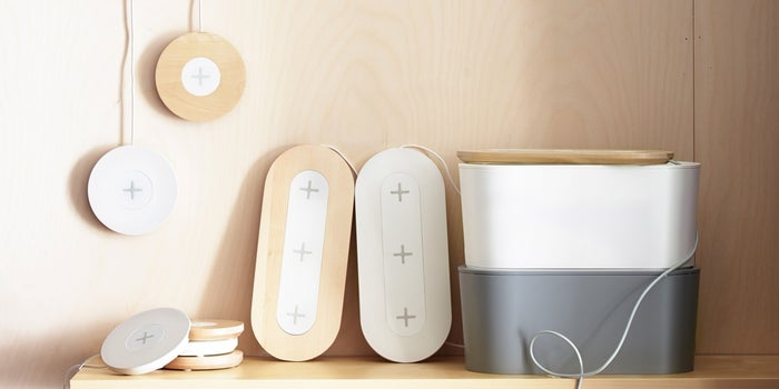 Soon You'll Be Able to Buy IKEA Furniture That Charges Your Electronics Wirelessly