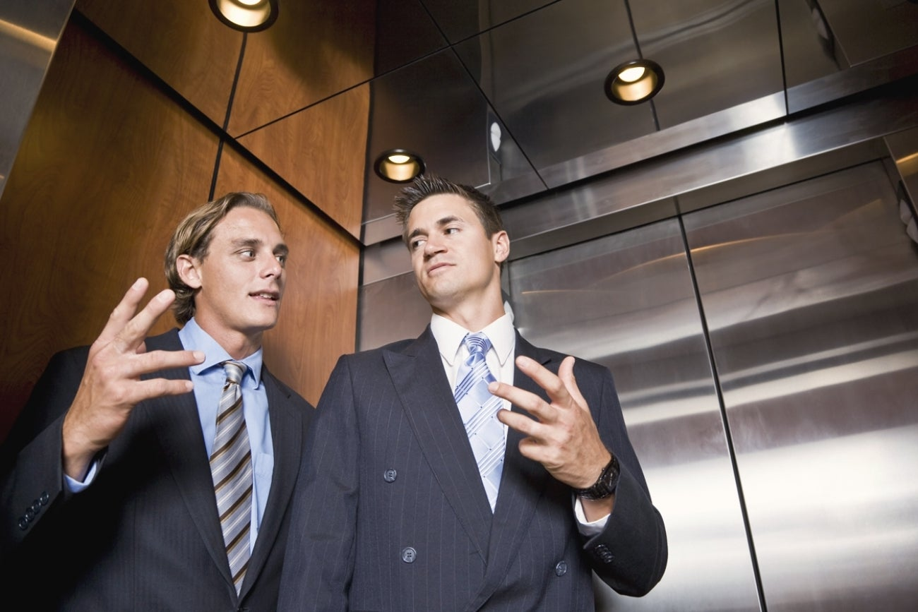 reasons why your elevator pitch isn t working