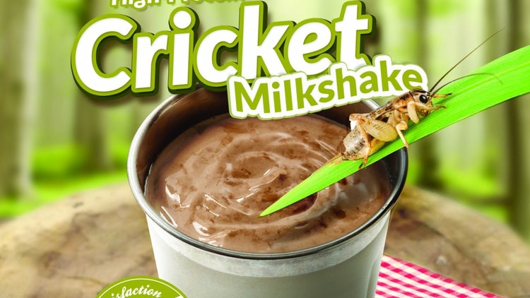 An April Fool's Day Prank Led This Burger Chain to Start Selling Milkshakes Made With Crickets