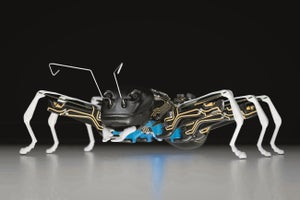 These Giant Robotic Ants Could One Day Replace Factory Workers