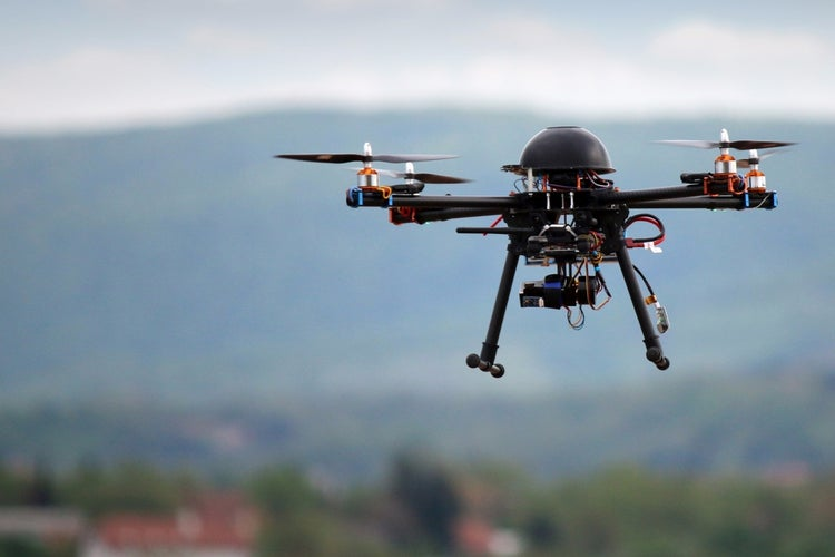 Image result for Flying drones to soon be legal in India