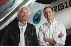 Virgin Galactic Lands in Long Beach, Unveils Plan to Launch Small Satellites Into Space