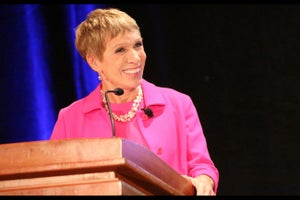 Barbara Corcoran: Great Entrepreneurs Don't Have Time to Mourn Rejection (VIDEO)
