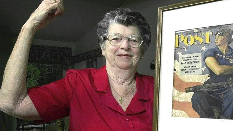 The Model for Norman Rockwell's Iconic 'Rosie the Riveter' Painting Has Died