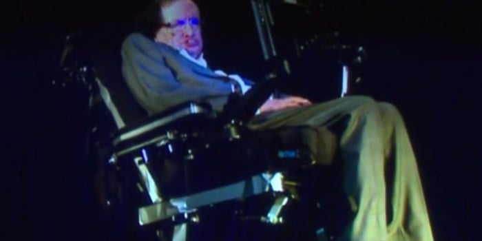 Stephen Hawking, Via Hologram, Tries to Reassure One Direction Fans About Zayn Malik's Departure