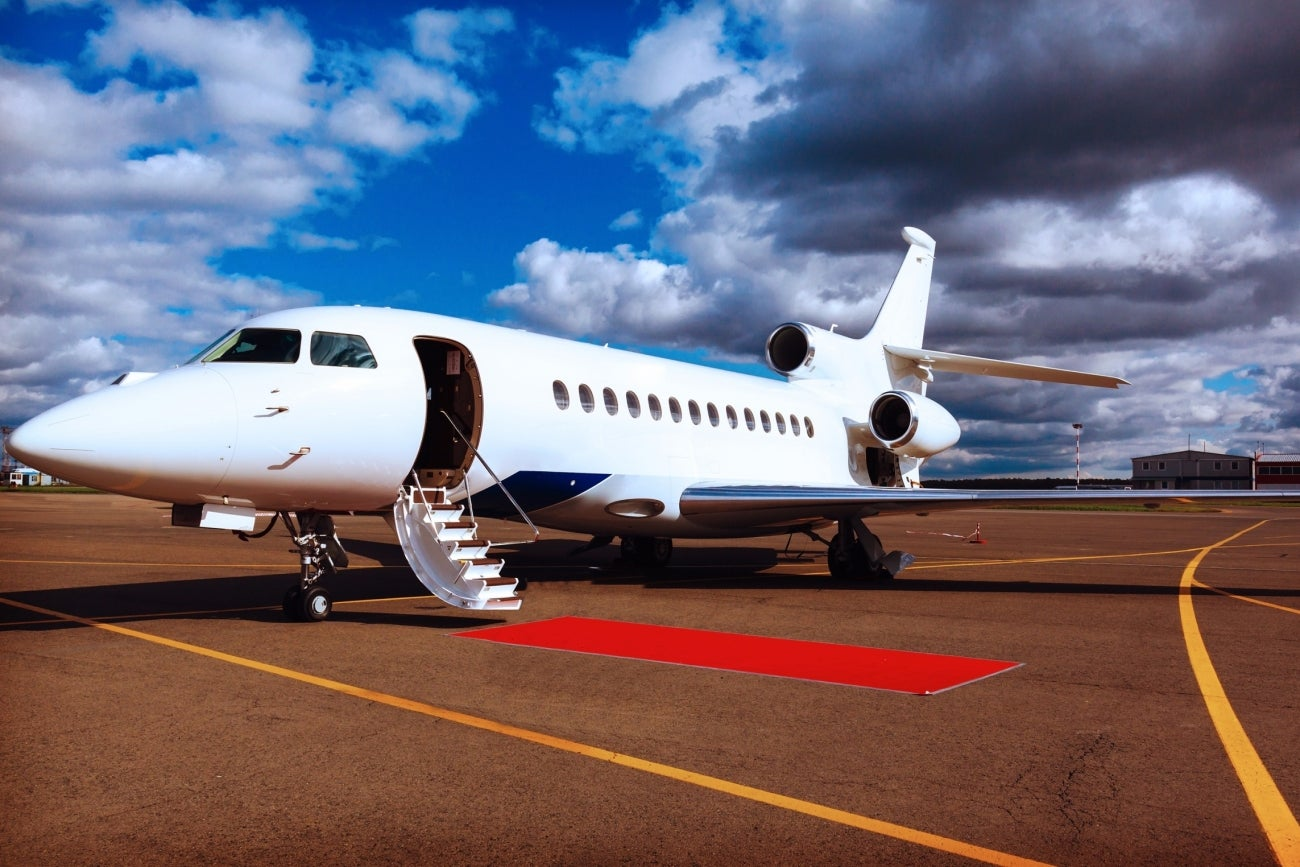 How To Get A Deal On A Private Jet Infographic