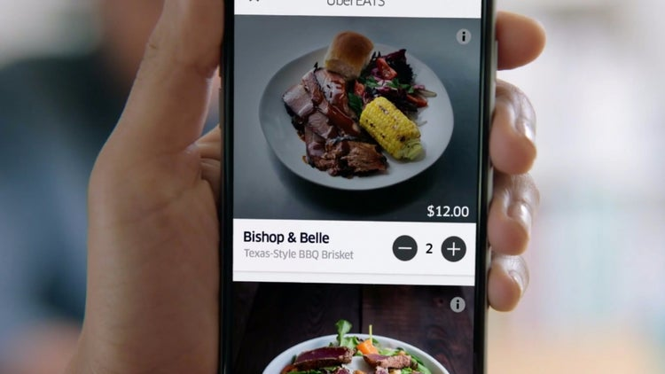 Uber Launches Standalone Meal Delivery App