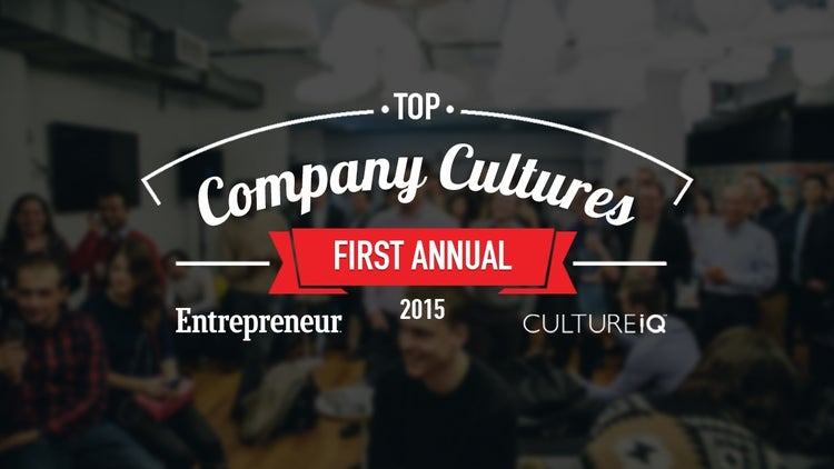Entrepreneur and CultureIQ Join Forces to Bring You Our First-Annual Top Company Cultures List