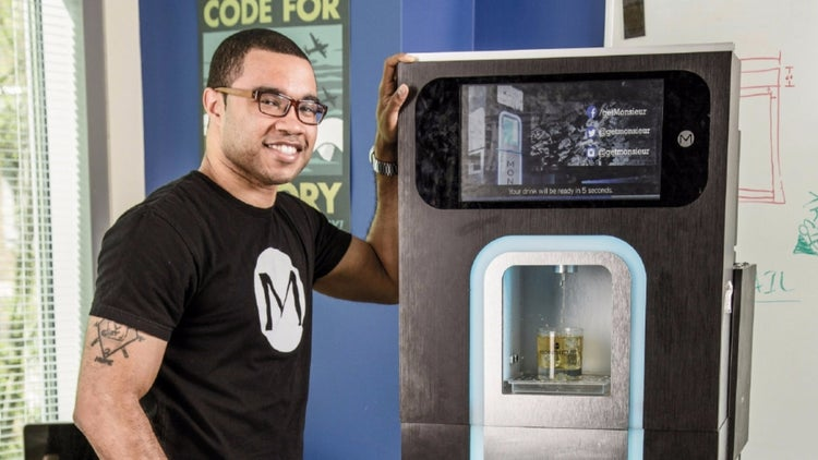 Get Your Digital Drink on With Robot-Crafted Cocktails