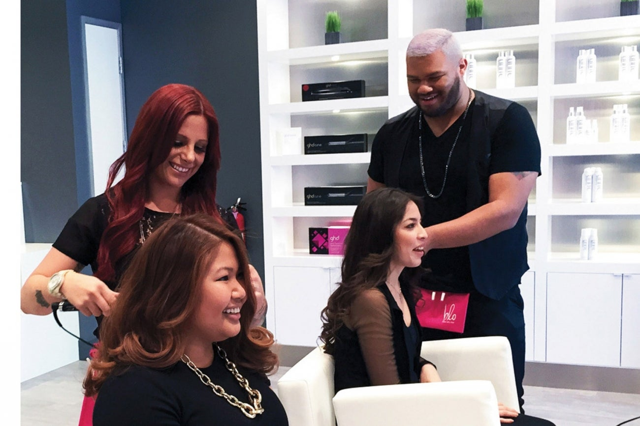 How this blow dry salon franchise went from 3 units to 50 Build your own salon