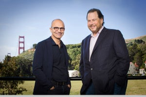 Looks Like Microsoft Might Consider a Bid for Salesforce.com