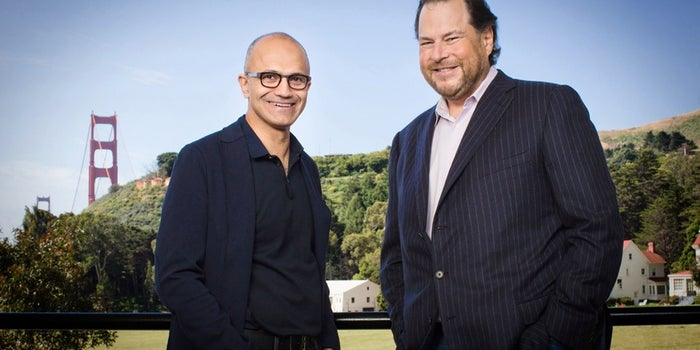 Looks Like Microsoft Might Consider a Bid for Salesforce.com