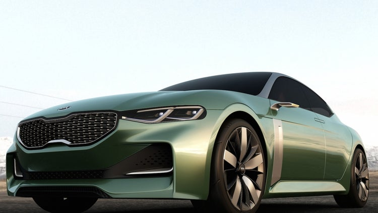 Touch and Go: Kia Unveils Concept Car