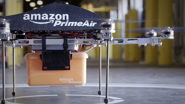 Amazon Releases Video Showcasing Delivery Drones