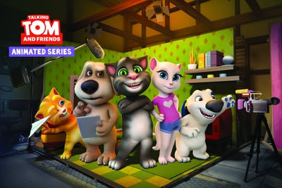 With Billions of App Downloads and YouTube Views, Talking Tom Spawned...