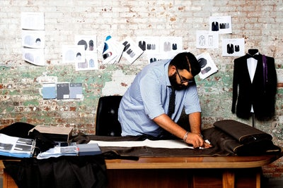 This 29-Year Old Tailor Is Relentlessly Working to Overhaul the Menswe...
