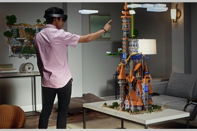 Watch Microsoft's Eye-Popping Hololens Demo Using Minecraft