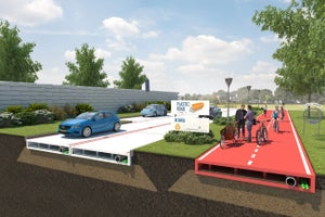 Imagine If Our Highways Were Paved in Plastic