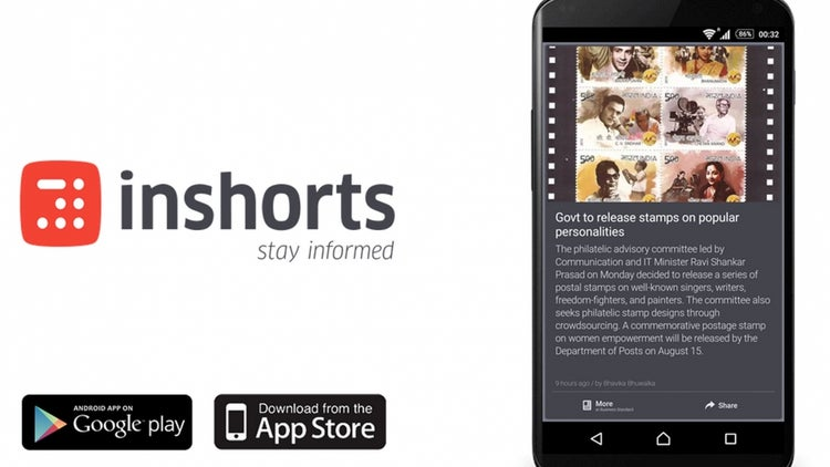 Inshorts set to emerge as mobile content powerhouse of India