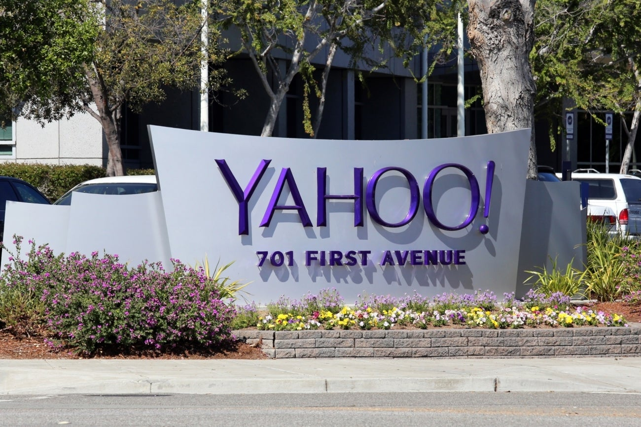 When was Yahoo.Com invented?