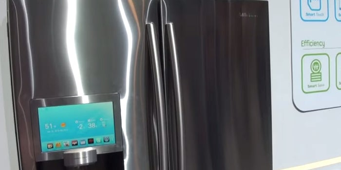 How This Connected Refrigerator Could Put Your Passwords at Risk