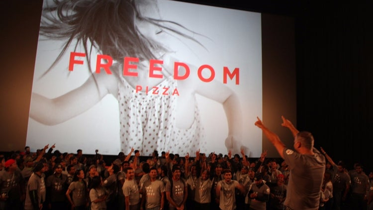 Executing The Business Rebrand: The Co-founders Of Freedom Pizza Have Left The Franchise Safety Net