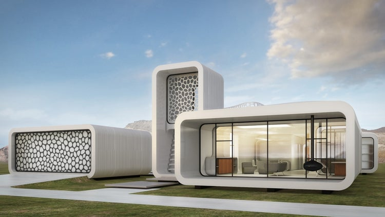 Dubai Releases Designs For 3D Printed Office