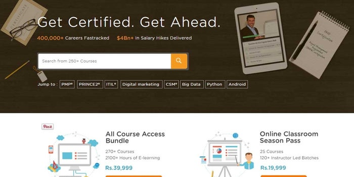 Simplilearn aims to be the 'go-to career' destination for professionals globally