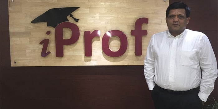How Sanjay Purohit turned iProf into a successful venture
