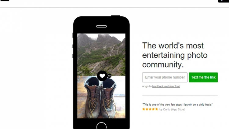 Back From The Dead: Selfie App Frontback Says Goodbye And Comes Back Again