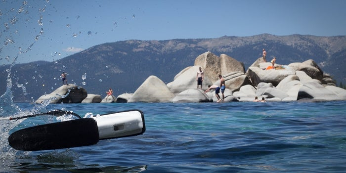 This Spry Underwater Drone Is Speed Swimming to Success on Kickstarter