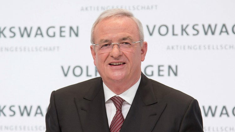 Report: Volkswagen CEO Ousted Over Emissions Scandal