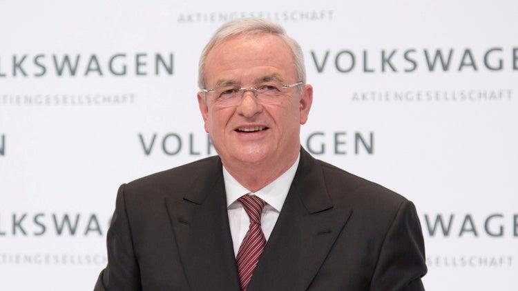 Martin Winterkorn Steps Down as Volkswagen CEO