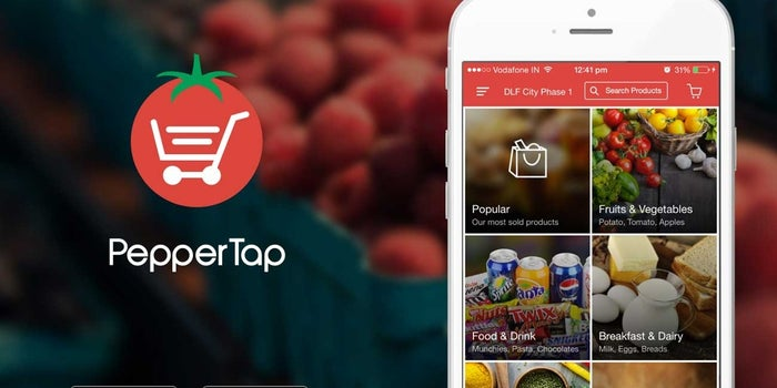Snapdeal backed PepperTap is out to be the biggest name in online grocery market