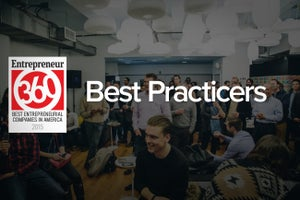 The Success Secrets That Helped the 'Best Practicers' Land on the Entrepreneur360