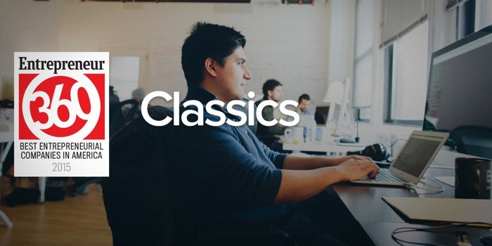 Confident and Sales-Focused: A Look at the Entrepreneur360 'Classics'