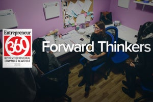 How Staying in Front of the Pack Helped the 'Forward Thinkers' Nab a Spot on Entrepreneur360