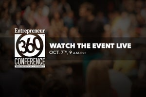 WATCH NOW: Entrepreneur360 Conference Livestream