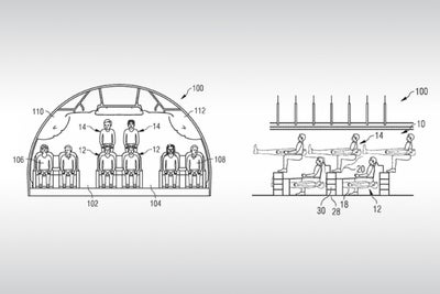 Airbus Files Patent That Shows Airplane Passengers Stacked On Top of E...