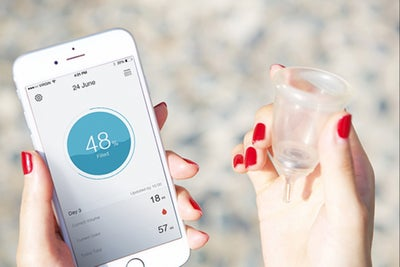 Ladies: This 'Smart' Menstrual Product Texts You From Down There