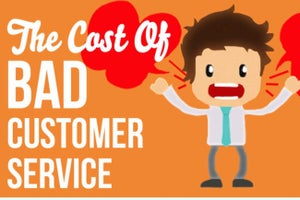 Want to succeed efficiently? Give top notch customer service [Infographic]