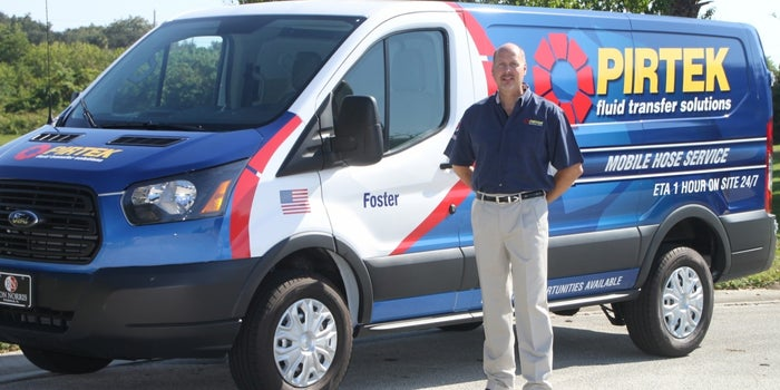 How One Man's Air Force Experience Led to Life as a Hydraulic Hose Franchisee