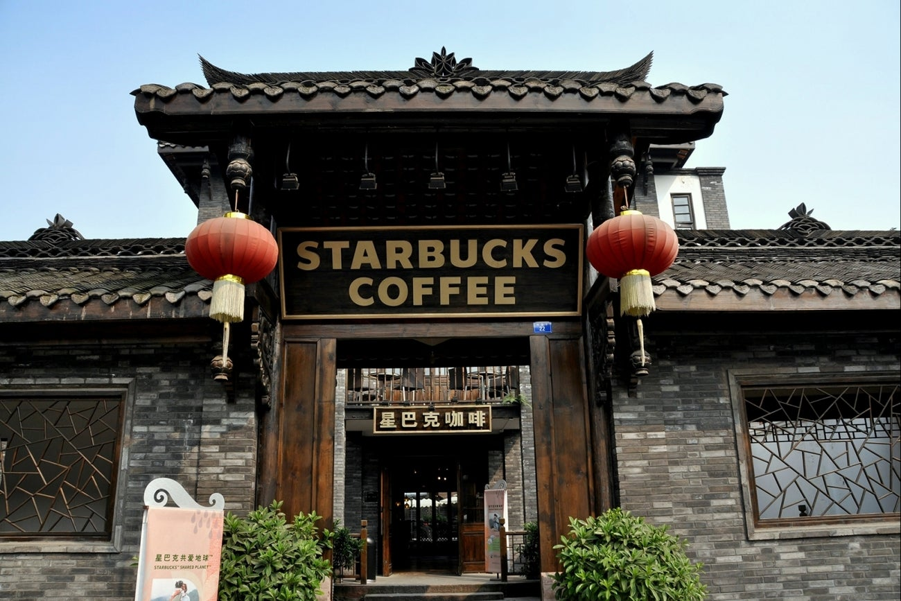 chinese starbucks Top 5 fake stores found in china by andi -  twitter as chinese consumers have become more  so it's no wonder that fake starbucks have sprung up in every .