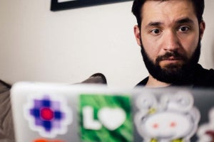 Reddit Co-Founder Alexis Ohanian Reveals Hopes for New Site 'Upvoted' (VIDEO)