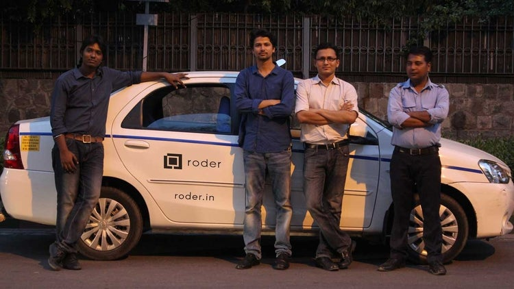 Roder signifies a passionate road traveler, says co-founder Ashish Rajput