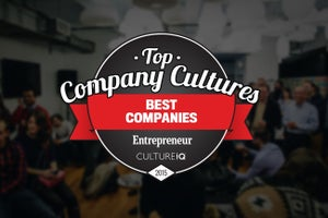 Entrepreneur and CultureIQ Present the Top Company Cultures List