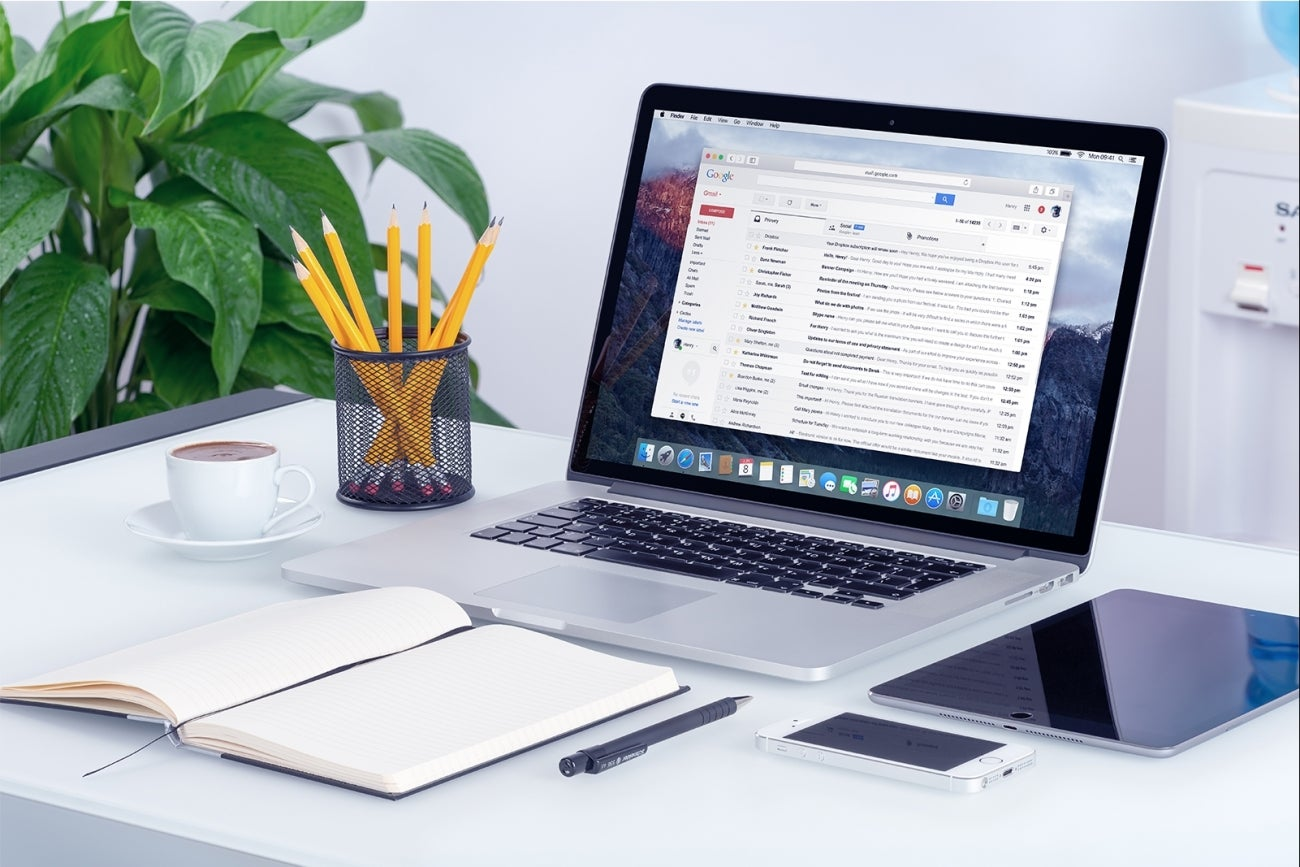 how to use google for business email