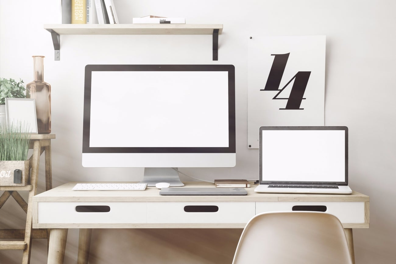 create a home office. 9 Ways To Create A Productive Home Office (Infographic)